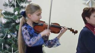 Charles Dancla Solo№1 h-moll - Dasha Rakhmanina 10year.wmv
