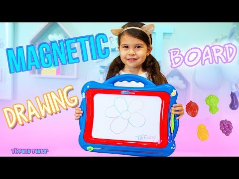 best-nextx-kids-magnetic-drawing-board-unboxing-toy-review