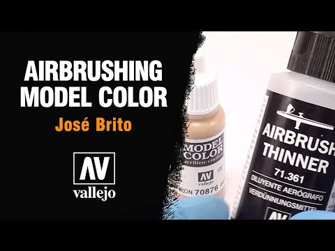 Airbrushing Vallejo Model Color
