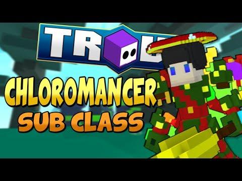 CHLOROMANCER SUB CLASS ABILITY! (Thorns) - Trove Sub Class Ability Guide