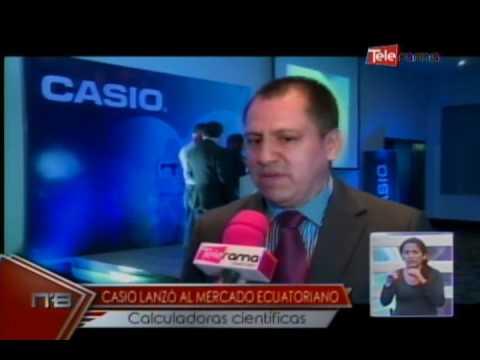 Casio lanzó al mercado ecuatoriano calculadoras científicas