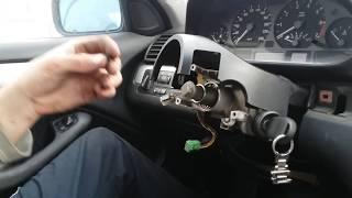 Как снять панель приборов на Bmw E46