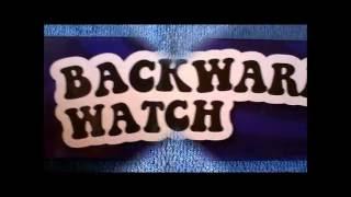 Backwards Analogue Quartz Watch HD