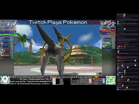 Twitch Plays Pokémon Battle Revolution - Match #104767