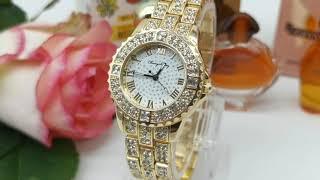 Женские Наручные Часы с Инкрустацией Стразами Бренд DUNGBEETLE от AliExpress Watch Global Store