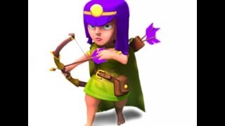 Clash of Clans - 1) All Archers Attack