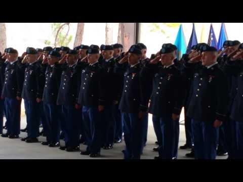 Fort Benning GA Turning Blue Ceremony Part 1