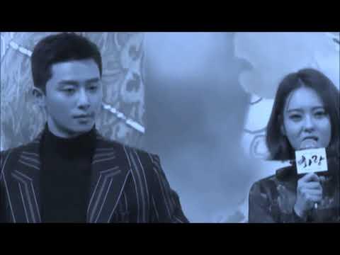 [junara] Park Seo Joon & Go Ara - Hwarang Presscon Cut
