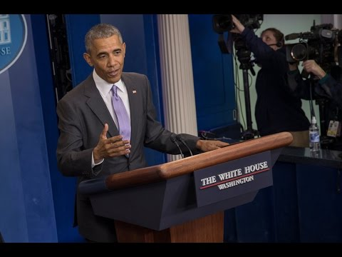 Watch Live: President Obama's Final News Conference