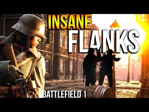 BATTLEFIELD 1 AGGRESSIVE FLANKING SNIPING   BF1 Scout CQB Gameplay