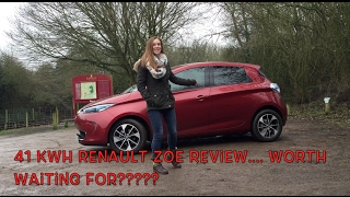 2017 Renault Zoe 41kWh Review
