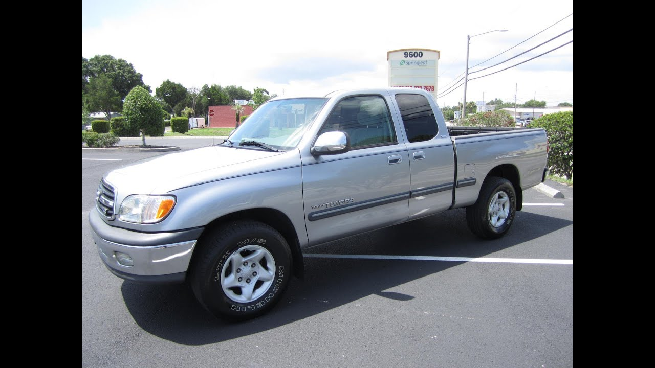 sold 2001 toyota tundra sr5 access cab i force meticulous motors inc florida for sale youtube. Black Bedroom Furniture Sets. Home Design Ideas