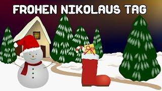 Ein kleiner Nikolausgruß – Viele liebe Grüße zum Nikolaus für dich  – Gruß Video