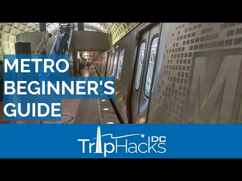 Washington DC Metro for Beginners