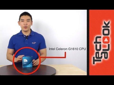 【開箱】 Intel第三代 新賽揚Celeron G1610 雙核心處理器 - YouTube
