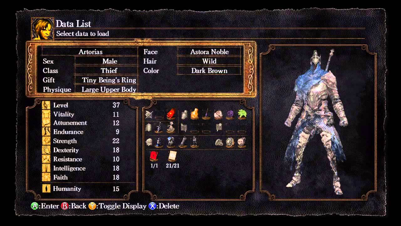 Dark Souls - Low Level Artorias Build - YouTube - photo#27