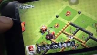 Clash of clans..Air Bomb GLITCH ?