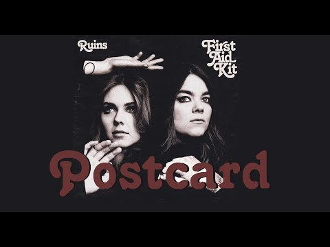 First Aid Kit - Postcard (Lyrics)