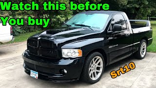 5 things to know BEFORE buying a DODGE RAM SRT-10