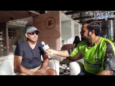 Head Coach Of Lahore Qalandars Aqib Javed - Special Interview, PSL 3 @ UrduPoint