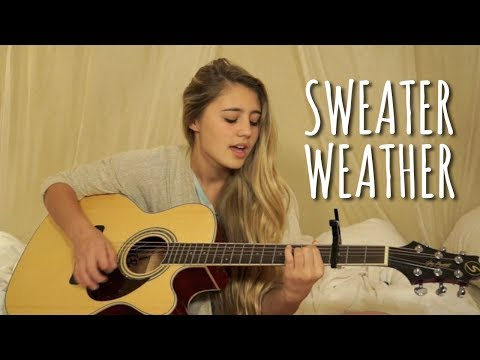 Lia Covers Sweater Weather