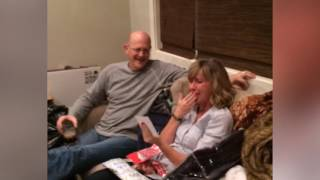 =Mom Has Sweet Reaction To Surprise Concert Tickets