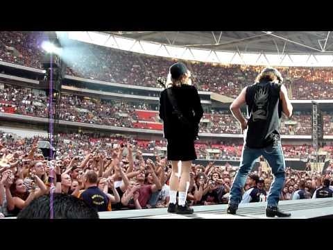 AC/DC Rock N Roll Train Live Wembley Stadium 26/06/2009 720p HD