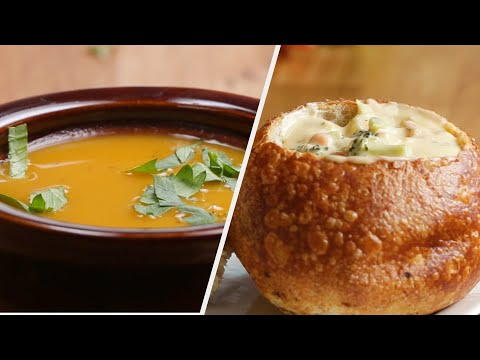 7 Hearty Soups For The Soul •Tasty Recipes