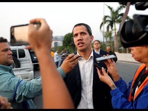 EN VIVO (replay)   Guaidó anuncia que militares en Venezuela se unen a él, Maduro denuncia un golpe
