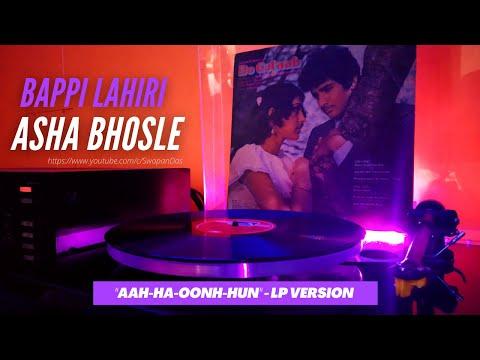 Asha Bhosle | Aah Ha Oonh Hun | DO GULAAB (1983) | Bappi Lahiri | LP Record Version | Vinyl Rip