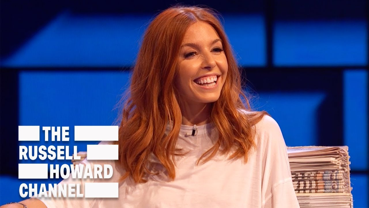 Stacey Dooley Reveals The Wild Side To Working At Luton Airport Russell Howard Hour Youtube
