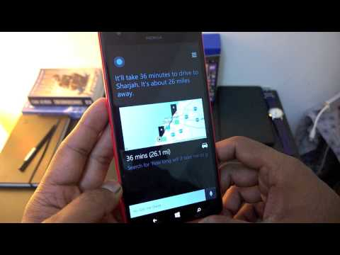 Cortana and Windows Phone 8.1 on the Nokia Lumia 1520