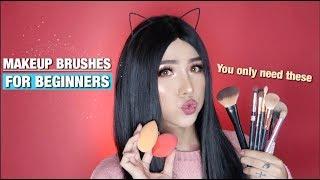 Tổng hợp các loại cọ MAKEUP cần thiết cho Người Mới Bắt Đầu | Makeup Brushes for Beginners | Ty Lê |