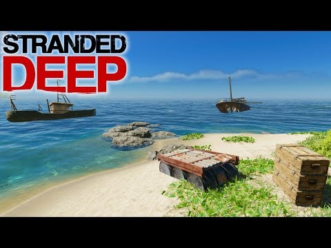 STARTER ISLAND IS LEGIT! | Stranded Deep | Let's Play Gameplay | S09E02