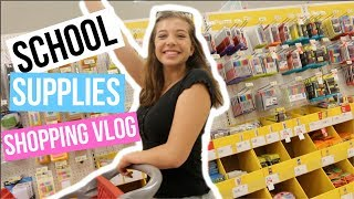 SCHOOL SUPPLIES SHOPPING 2017!! VLOG