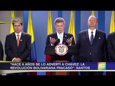 Nueva arremetida de maduro contra Colombia