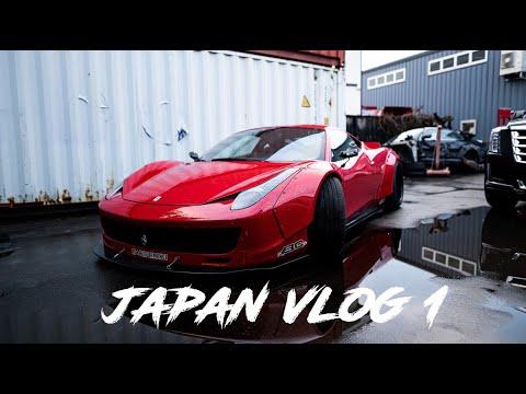 JDM Tour vlog 1   гараж Daigo Saito, Lamborghini, FIA 2019, AE86 Keiichi Tsuchiya, ГОЧА ЧЕМПИОН