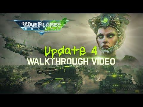 War Planet Online Update 4 what's New video