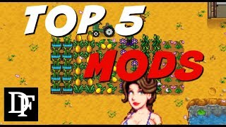 Here is a mod review covering the top 5 mods I use for pc Stardew V...
