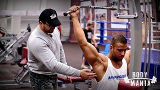видео упражнения на спину в тренажерном зале