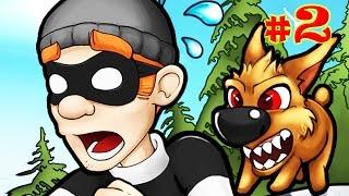ВОРИШКА БОБ [2] ПРОДОЛЖАЕМ ГРАБИТЬ ДОМА Мульт игра для детей Robbery Bob
