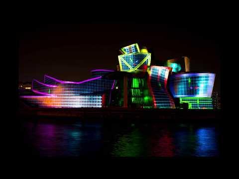 Guggenheim Reflections - Espectaculo de Luces en el 20 Aniversario del museo