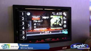 Pioneer NEX Car Stereo Recievers | CES 2014