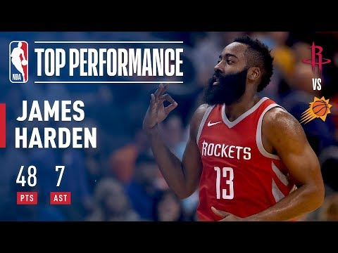 Harden Drops 48 Points and Leads the Rockets to Victory | November 16, 2017