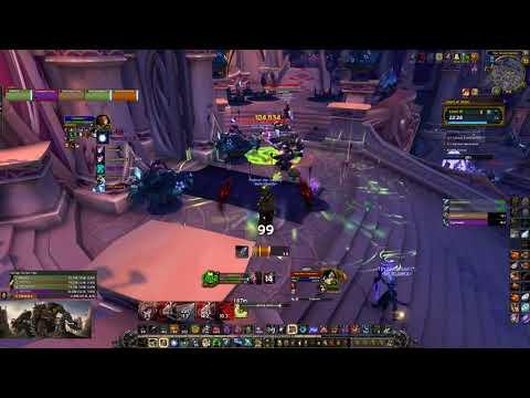 World Of Warcraft   Court Of Stars Mythic +18   MM Hunter PoV