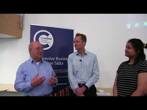 Wednesday Business Talks - Student interview with Co-founders of Cambridge Silicon Radio Ltd