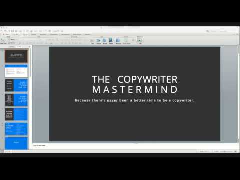 The Copywriter Mastermind: Info session