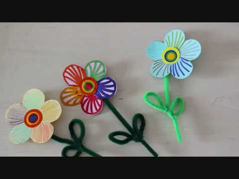 יצירת פרח ממנקה מקטרות