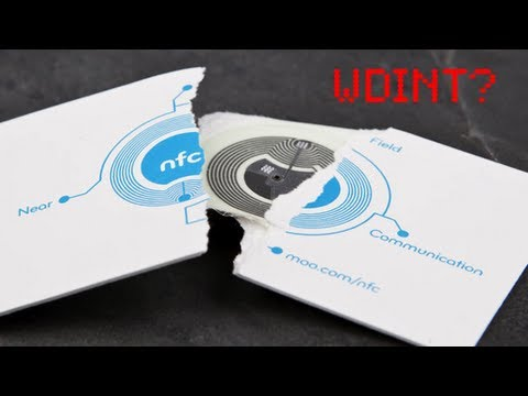 nfc business cards youtube - Nfc Business Cards