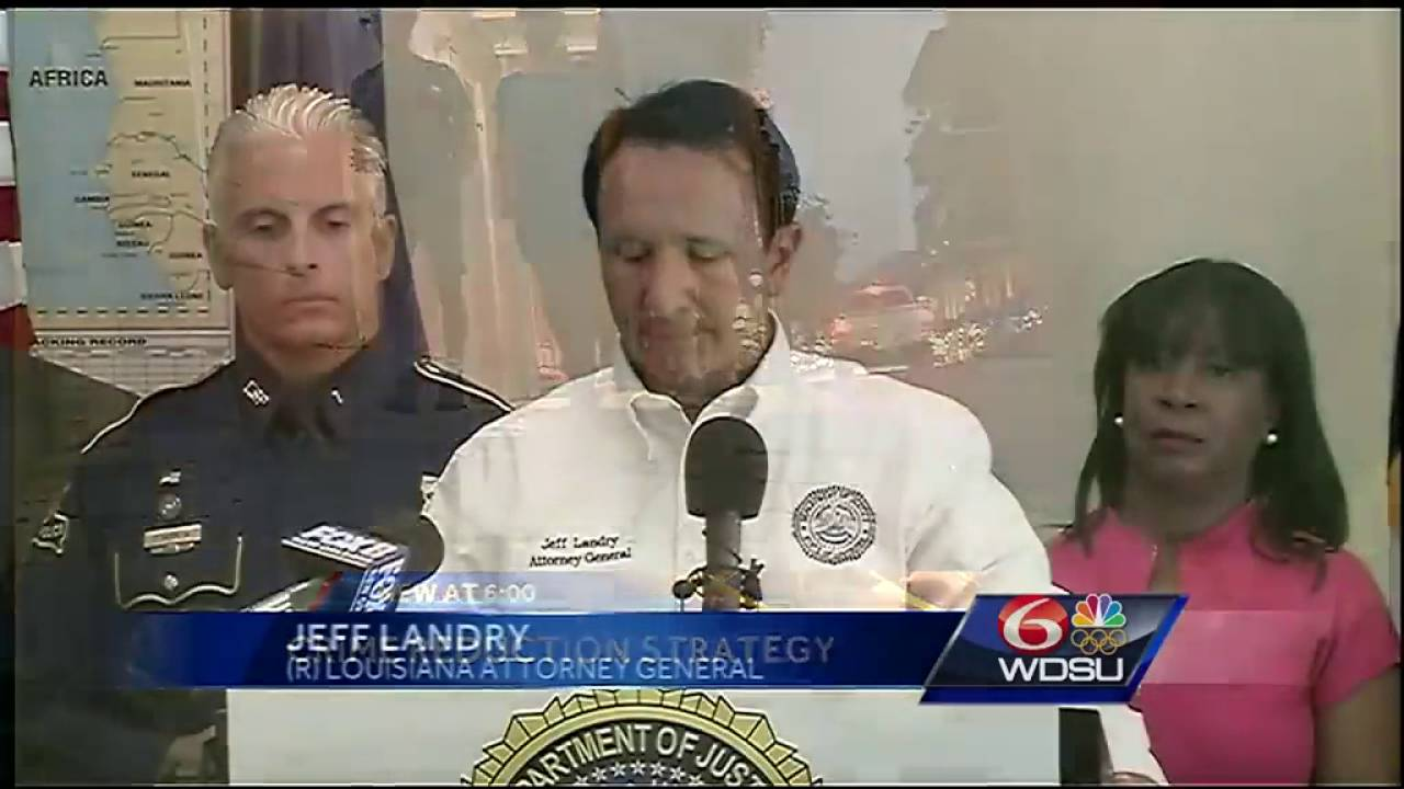 Louisiana AG boosts manpower with new strategy to combat crime in NOLA